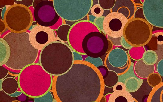 Circle Abstract Powerpoint Background