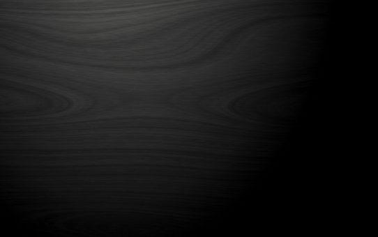 Dark Black Wooden Texture Background Powerpoint