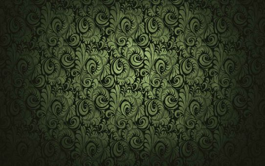 Green Batik Fabric Texture Background Powerpoint