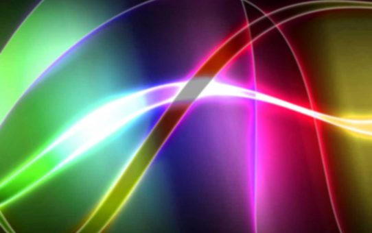 Rainbow Abstrack Background Powerpoint